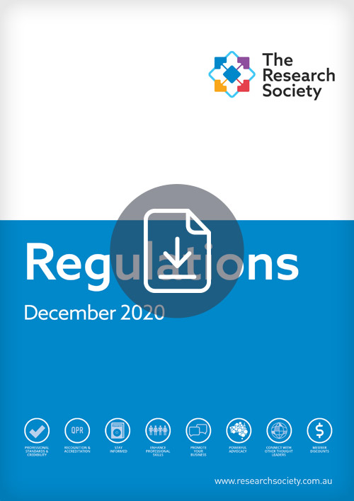 The Research Society Regulations